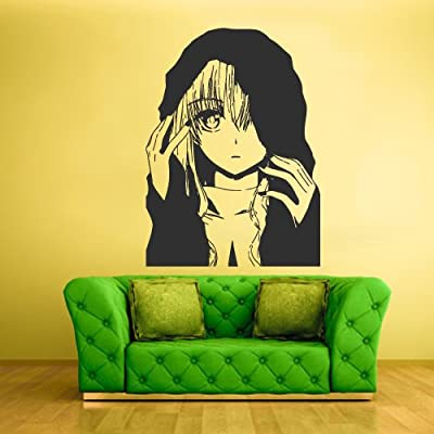 STICKERSFORLIFE Wall Decal Mural Sticker Anime Manga Naruto Boy Kids Girl Nursery Final Fantasy Hero (Z1721): Home & Kitchen