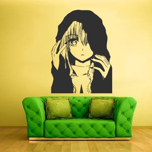Wall Decal Mural Sticker Anime Manga Naruto Boy Kids Girl Nursery Final Fantasy Hero (Z1721)