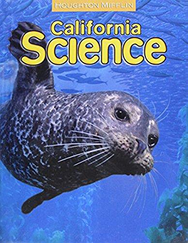 Houghton Mifflin Science California: Student Edition Single Volume Level 5 (California Single)