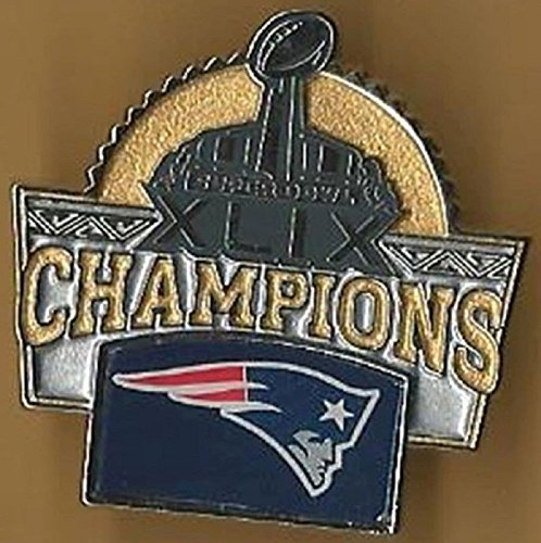 2014 SUPER BOWL 49 CHAMPIONS PIN SUPERBOWL XLIX PATRIOTS CHAMP PIN (New England Super Bowl 49 Pin)