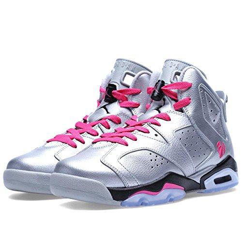 Nike (Gs) Big Kids Air Jordan 6 Retro Gg Basketball Shoes, Grey, 7 M Us by NIKE