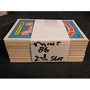 1985 Garbage Pail Kids cards series 2 complete set