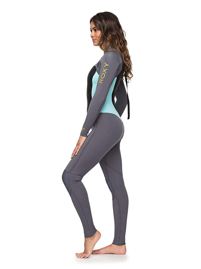 210fcabb72 Amazon.com   Roxy Womens 3 2Mm Syncro Series Back Zip GBS Wetsuit  Erjw103024   Women S Roxy Wetsuit   Sports   Outdoors