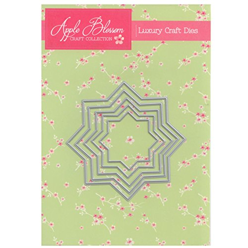 Apple Blossom Craft Die DIOB0027 Eight Pointed Nesting Star by Apple Blossom Designs