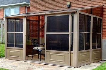 Amazon Gazebo Penguin W1207 Add A Room All Season Solarium 8 Feet By 12 Spa Garden Outdoor