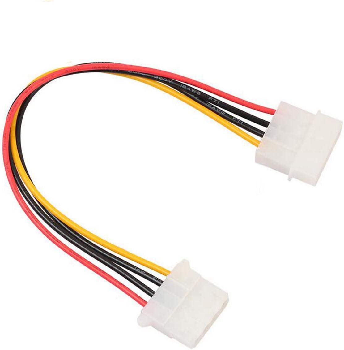 "12/"" inch 4 Pin IDE MOLEX 5.25 Female to Female F//F PC Power Supply Cable"