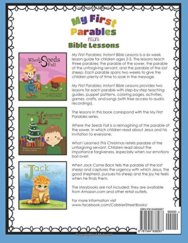 My First Parables: Instant Bible Lessons: Tiffany Rhodes