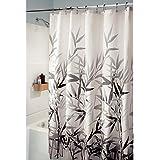 InterDesign Anzu Shower Curtain, Gray