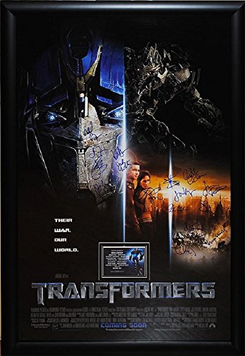 Transformers - Signed Movie Poster