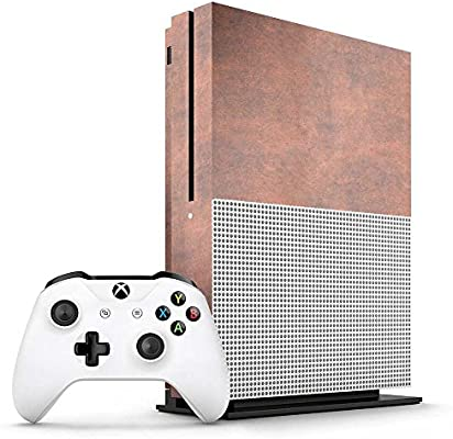 Xbox One S Tan Leather Console Skin / Cover/ Wrap for Microsoft ...