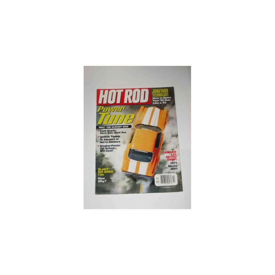 Hot Rod Magazine December 2000 Power Tune