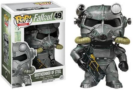 Funko Fallout Brotherhood of Steel Pop! Vinyl Figure by: Amazon.es: Juguetes y juegos