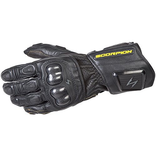 ScorpionExo SG3 MKII Men's Long Gauntlet Sport Gloves (Black, Large) (Gloves Klaw Scorpion)