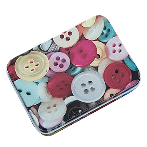 XENO-Portable Iron Tin Jewelry Pill Card Case Box Storage Bag Gift Decor Useful - Airtight Sunglasses Garage