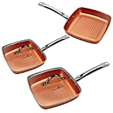 Copper Chef Square Fry Pan 5 Pc set Review