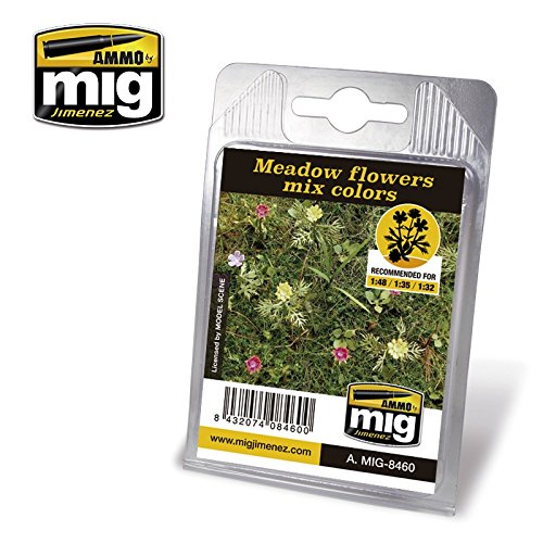 Ammo of Mig Jimenez 1:32-35-48 Meadow Flowers Mix Colors for sale  Delivered anywhere in USA