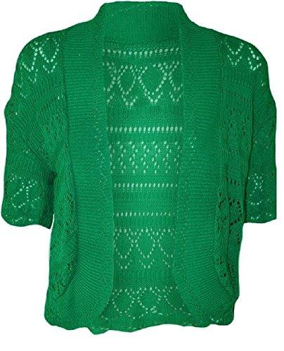 Kaaya - Cárdigan - para mujer verde jade