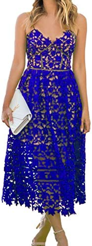 AlvaQ Womens Sexy Sleeveless Dress product image