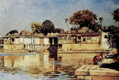 Edwin Lord Weeks Palace and Lake at Sarkeh, Near Ahmedabad, India 1882-1883 Private Collection 30