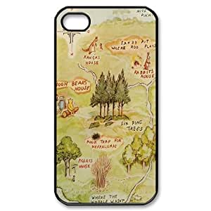 Customized Winnie the Pooh Hard Case For Iphone 4 4S case cover TPUKO-Q843822