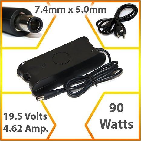 Lavolta - Adaptador de corriente/cargador compatible para ordenador portátil Dell Vostro 1700 (90 W) - ST031: Amazon.es: Informática