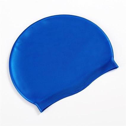 Adult Swimming Swim Cap Comfortable Hat Waterproof Swimwear Accessories Hats  (A) 517d472004cf