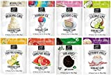 Project 7 Gourmet Gum Variety 8 Packs Set - Grapefruit Melon, Summer Snow, Coconut Lime, First Kiss, Peppermint Vanilla, Birthday Cake, Wedding Cake, Front Porch Lemonade