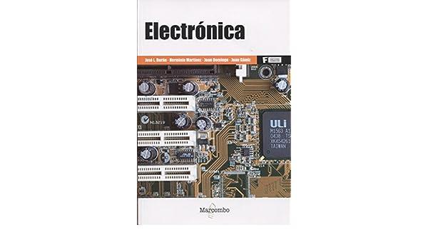 Electrónica (versión 2016 Castellano): Martínez, Domingo, Gámiz Durán: 9788426723499: Amazon.com: Books