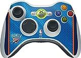 NBA Oklahoma City Thunder Xbox 360 Wireless Controller Skin - Oklahoma City Thunder Blue Jersey Vinyl Decal Skin For Your Xbox 360 Wireless Controller