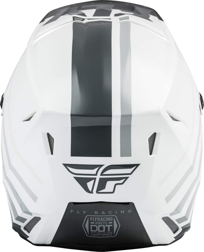Small Fly Racing 2020 Kinetic Helmet Thrive Matte Dark Grey//Black