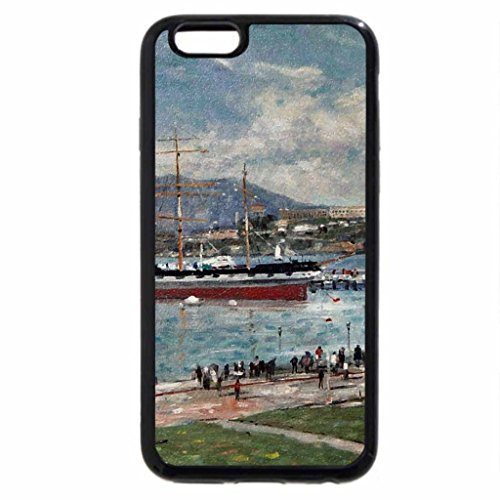 iPhone 6S / iPhone 6 Case (Black) Alcatraz 1