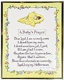 WJ Hirten 810-391 Baby Prayer Everlasting Plaque