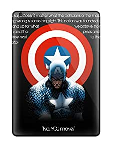 Awesome UOhNG4228bRPYZ HopeTree Defender Tpu Hard Case Cover For Ipad Air- Captain America Iphone