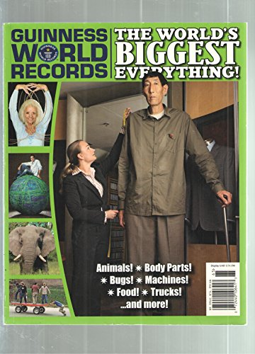 Guinness World Records the Worlds Biggest Everything! - 2006 publication.