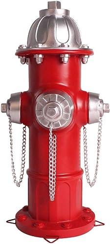 JHP Dog Fire Hydrant Garden Statue