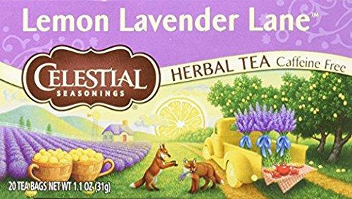 - Celestial Seasonings Lemon Lavender Lane tea, Pack of 3