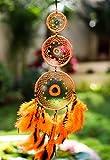 Daedal Dream Catchers - Inverse Orange And Black