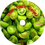 Green Tomatoes Cookbook and Recipes on CD fried stew soup pickle sandwich