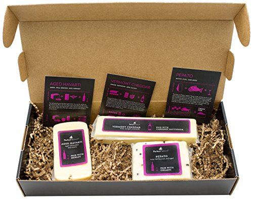 Perfect Partners Cheese for Red Wine Pairing Box, 24 Ounce