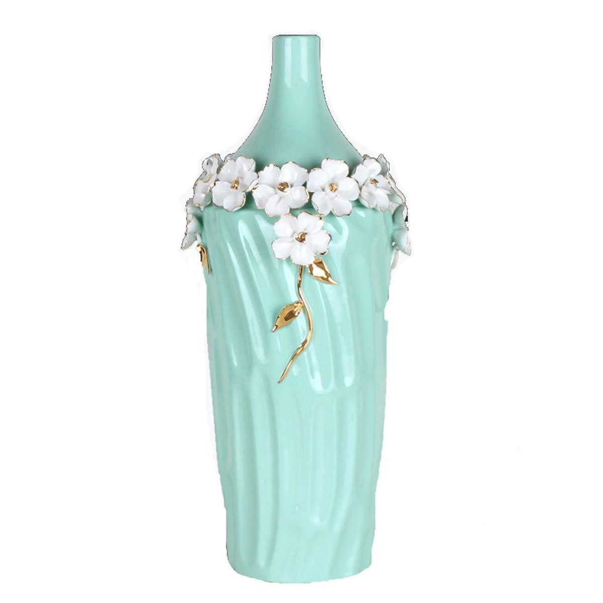 In  CYGGL Cadeau Décoration Vase Est Petite Fleurs Fraîches L'émulation Le Porche Le Salon Télé Cabinet Décoration Les OrneHommests.Courte