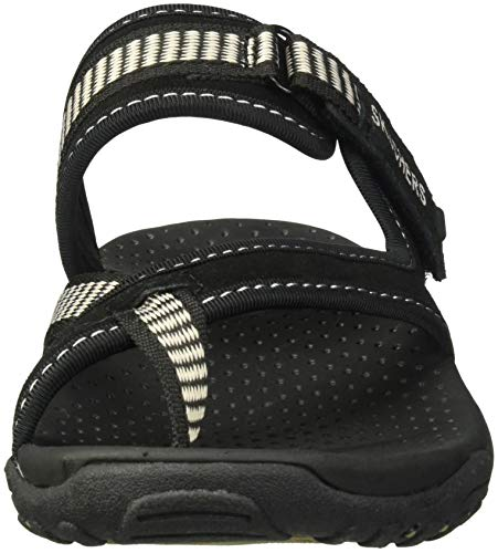 Swag Skechers Femme Tongs Zig Black Reggae qxxBYwa