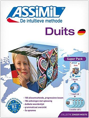 ASSiMiL Duits: Deutsch für Niederländer, Lehrbuch (Niveau A1 – B2) mit 4 Audio-CDs und 1 mp3-CD