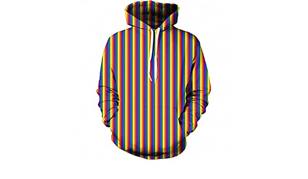 3D Hoodies Men Sweatshirts Newest Colorful Striped All Over Print Clothing Casual Pullovers Oversize Tracksuit Dropship hoodies men 4XL at Amazon Mens ...
