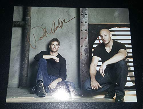 fast and furious signed picture - 3