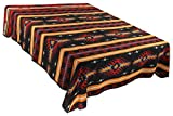 Splendid Exchange Southwestern Bedding Bonita Collection, Mix and Match, Queen/Full Size Reversible Bedspread, Anasazi Black and Red