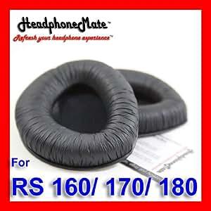 Sennheiser - Almohadillas para auriculares RS 160, RS 170, RS 180 y HDR 160, HDR 170 y HDR 180