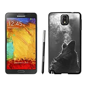 BINGO retail Winter Wolf Howling Samsung Galaxy Note 3 Case Black Cover