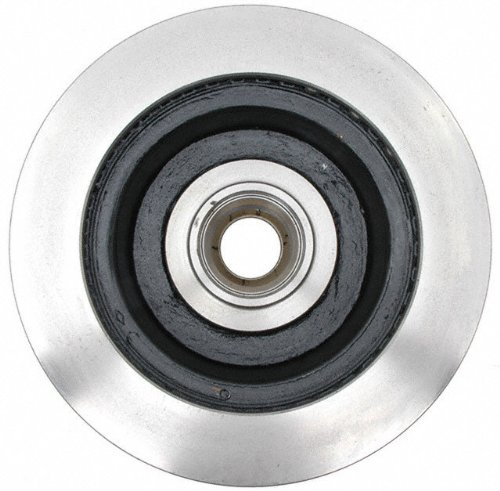 ACDelco 18A749A Advantage Non-Coated Front Disc Brake Rotor and Hub Assembly