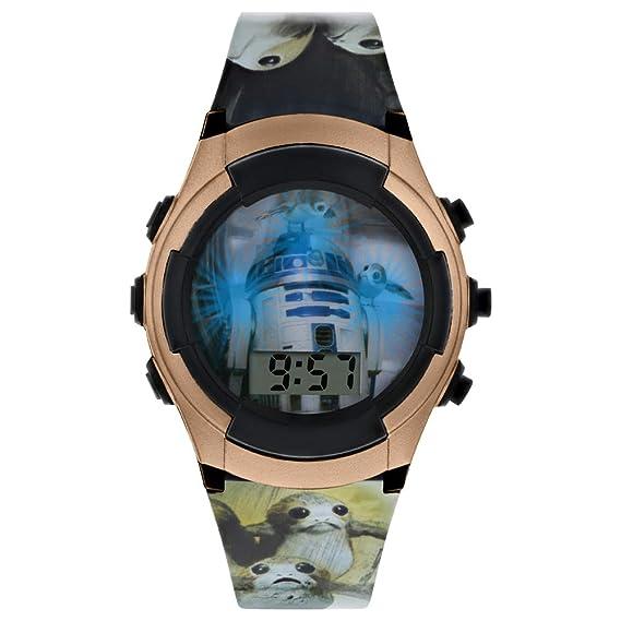 Star Wars Reloj Niños de Digital con Correa en PU SWJ4041: Amazon.es: Relojes