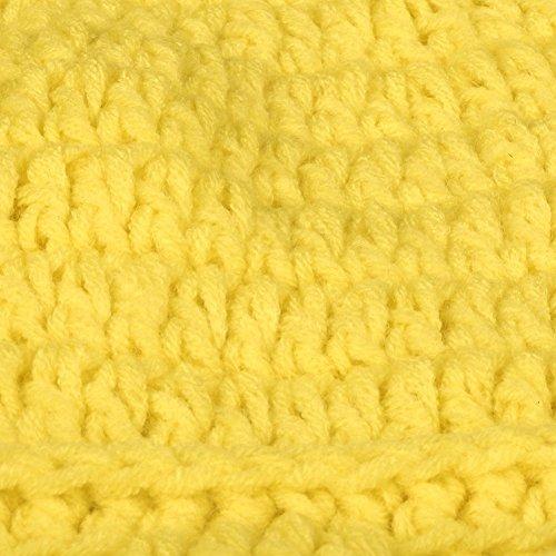 hombre AWEIDS amarillo para punto Gorro de qqCwg18Z